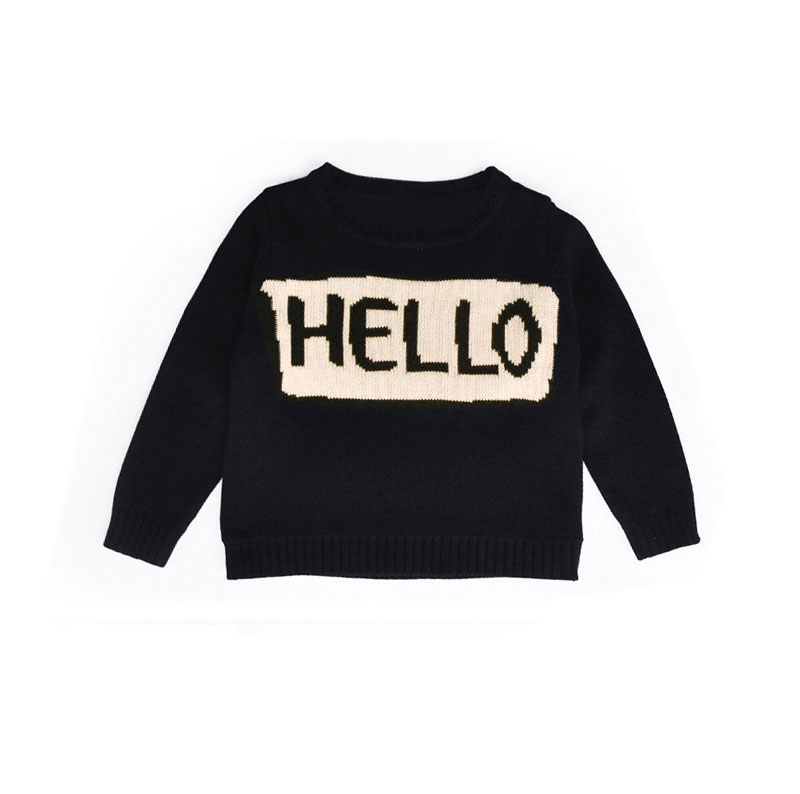 -Eudemon-INS-HOT-Mother-and-Daughter-Clothes-Sweater-Letter-HELLO-Sweaters-Kids-Girls-Boys-Mother