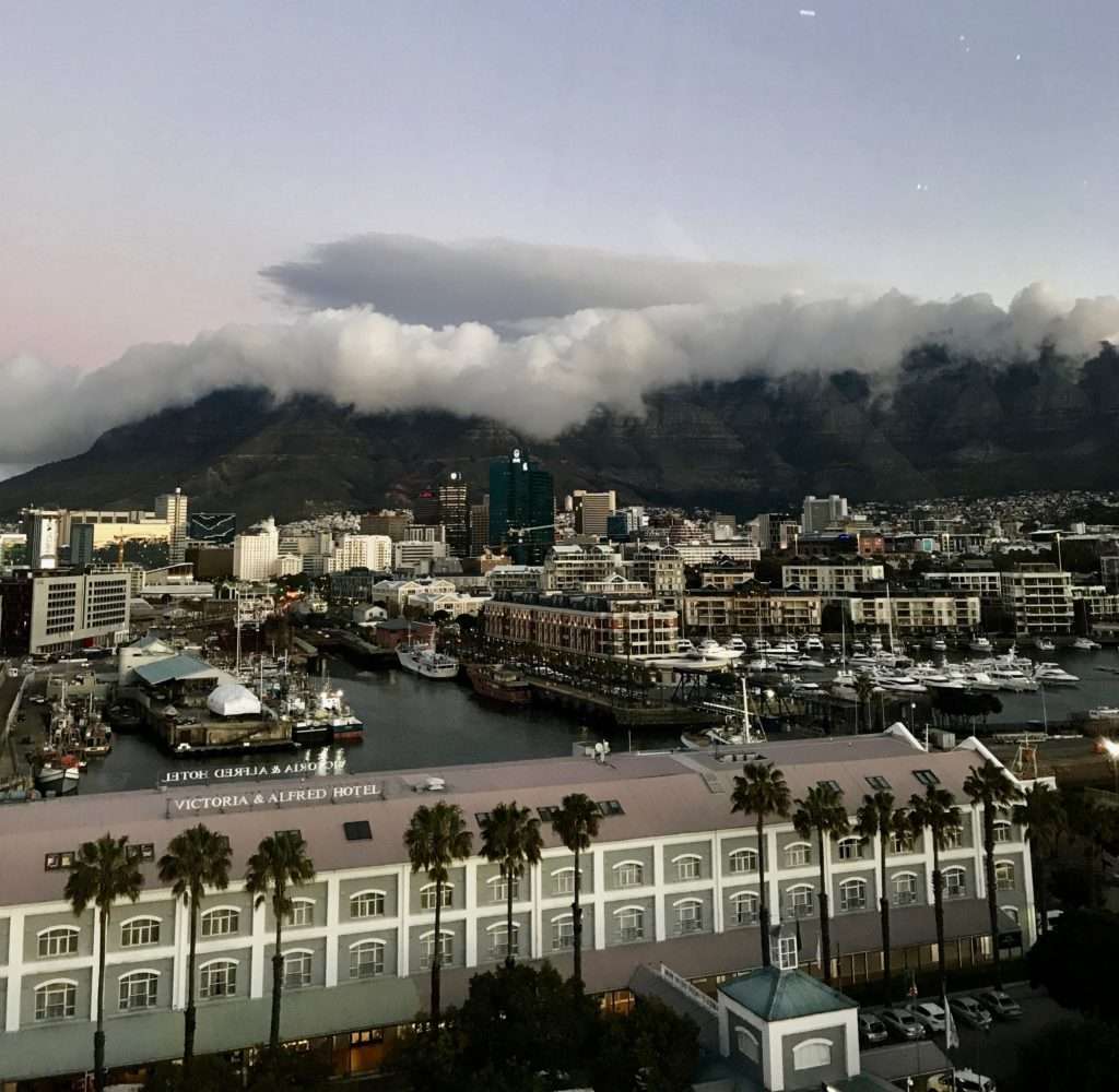 View of Table Mountain from the Cape Wheel